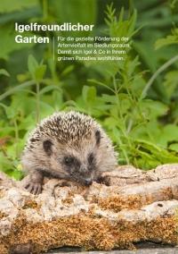 Broschüre: Igelfreundlicher Garten